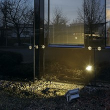 LED OUTDOOR BEAM, srebrno siva, 30W, 100°, IP65
