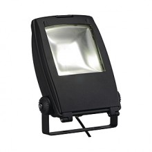 LED FLOOD LIGHT, mat črna, 30W, 5700K, 100°, IP65