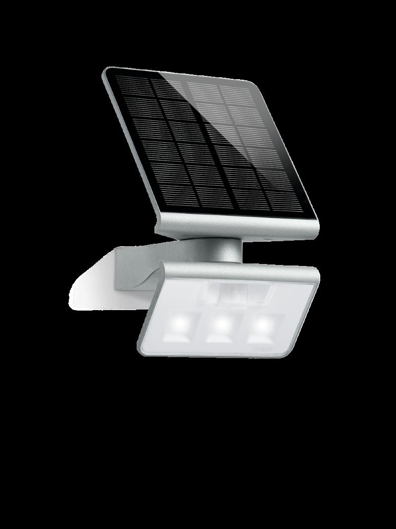senzorska solarna steinel svetilka led light xsolar l s srebrna efekt svetila. Black Bedroom Furniture Sets. Home Design Ideas